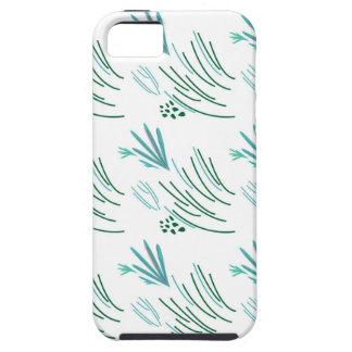 Zeewieren groen op wit tough iPhone 5 hoesje