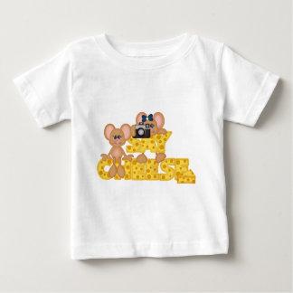 Zeg de Muis van de Kaas Baby T Shirts