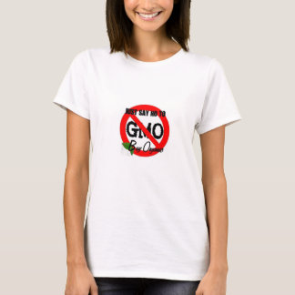 Zeg enkel nr aan GMO T Shirt