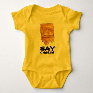 ZEG Gift Foodie van de Cheddar van de KAAS de Gele Romper