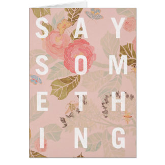 Zeg iets - Kaart