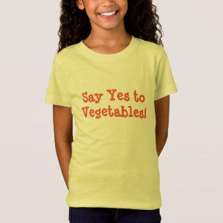 Zeg ja aan Groenten T Shirt