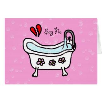 Zeg Nr om van de AntiKaart van de Valentijnsdag te Briefkaarten 0