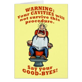 Zeg Uw Goodbyes! Briefkaarten 0