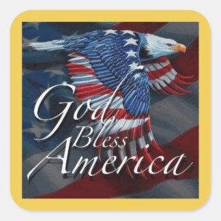 Zegen de Stickers van de Dag van de Veteranen van