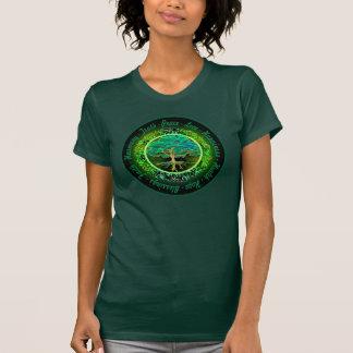Zegen, Geloof, de Boom van de Harmonie van het T Shirt