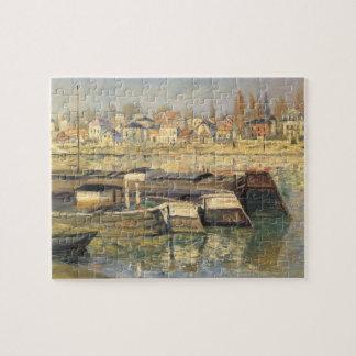 Zegen in Asnieres door Claude Monet, Puzzel