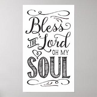 Zegen Lord Oh My Soul Art Poster