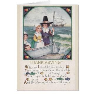 Zegen van Vrienden bij Thanksgiving, Briefkaarten 0