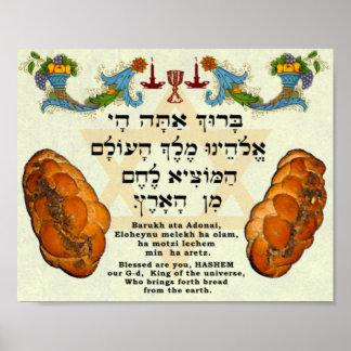 Zegen voor Brood Poster