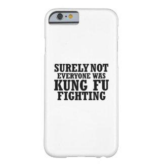 Zeker niet was iedereen het Grappige Vechten van Barely There iPhone 6 Hoesje