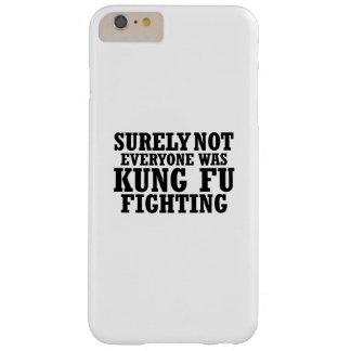 Zeker niet was iedereen het Grappige Vechten van Barely There iPhone 6 Plus Hoesje