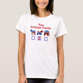 #zelection van Terrier van de stem Schotse T Shirt
