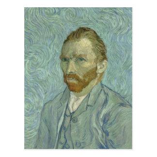 Zelf-Portret 1889 van Vincent van Gogh Briefkaart