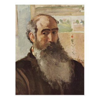 Zelf portret - Camille Pissarro Briefkaart