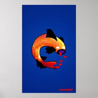Zelf-Su-vissen Poster
