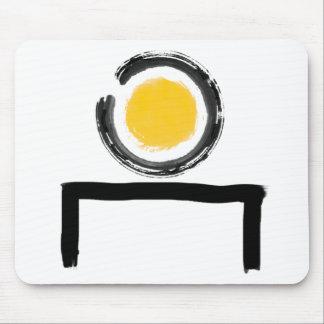 Zen op Mijn Logo van het Bureau Muismat