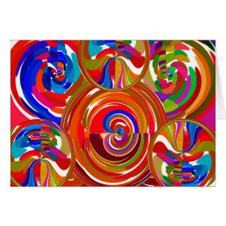 Zes Cirkels van de Sigma - de Borden van de Briefkaarten 0