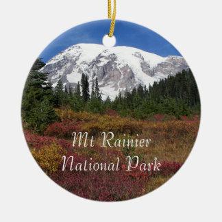 Zet de Regenachtigere Nationale Foto van het Park Rond Keramisch Ornament