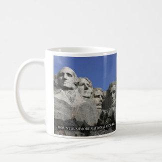 Zet Nationale Herdenkings Historische Mok Rushmore