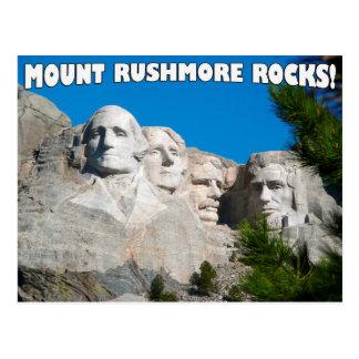 Zet Rotsen Rushmore op! Zet Rushmore, Zuid-Dakota Briefkaart