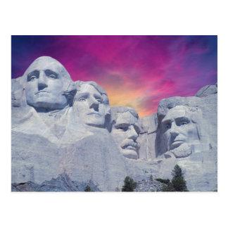 Zet Rushmore, Presidenten de Zuid- van Dakota, de Briefkaart