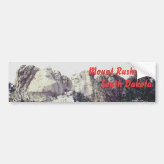 Zet Rushmore, Sticker Bumper van de Zuid- van Dako Bumpersticker