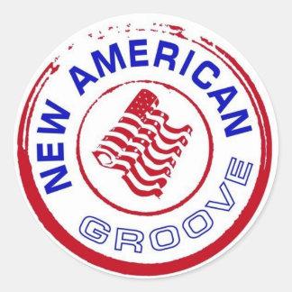 ZEUR de Sticker van het Logo van de Zegel