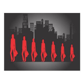 Zeven BedrijfsVrouwen Briefkaart