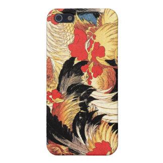 Zeven Hanen, Hokusai iPhone 5 Hoesje