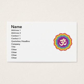 Zeven Kleuren Chakras Visitekaartjes