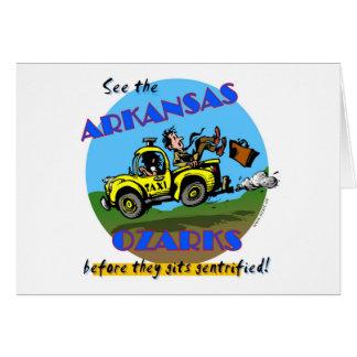 Zie Arkansas Ozarks Briefkaarten 0