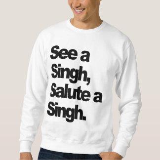 Zie een (Originele) Singh door Bescheiden P Trui