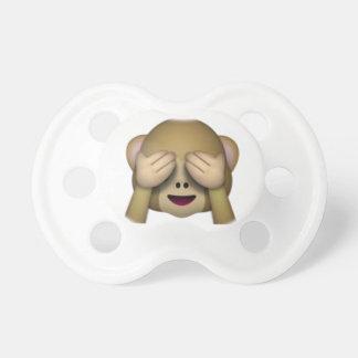 Zie Geen Kwade Aap - Emoji Speen