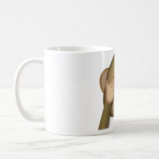 Zie geen kwade emojimok koffiemok
