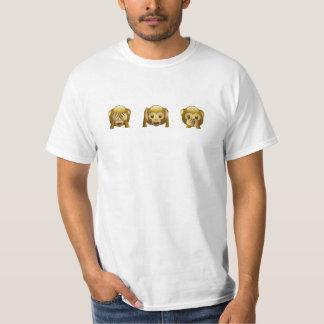 Zie nr. Hoor nr. Spreek nr T Shirt