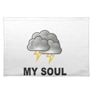 ziel mijn stormen placemat