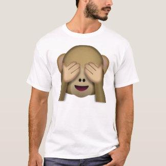 Zien-geen-kwade aapemoji t shirt