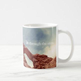 zift door statisch koffiemok
