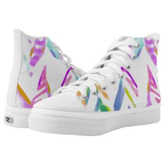 zigzag high top schoenen
