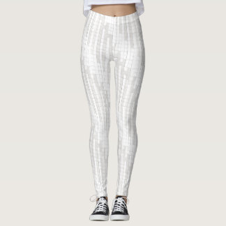 zigzag vierkanten in grijze… leggings