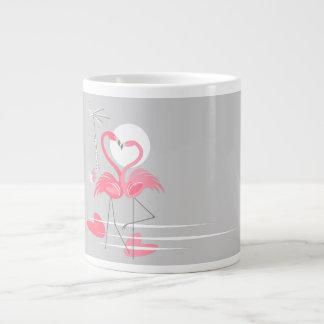 Zij de mokjumbo van de Liefde van de flamingo Grote Koffiekop