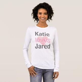 Zij houdt van hem Valentijnsdag | van | het T Shirts