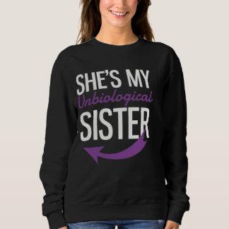 Zij is Mijn Paarse Zuster Unbiological Trui