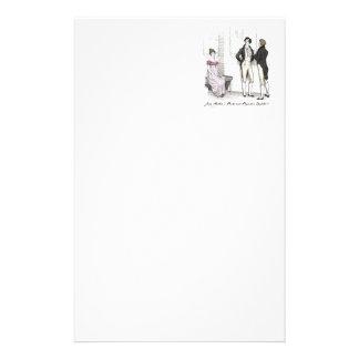 Zij is verdraaglijk… Jane Austen P&P CH3 Briefpapier