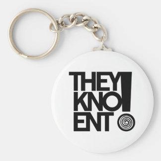 Zij Kno Keychain Sleutelhanger