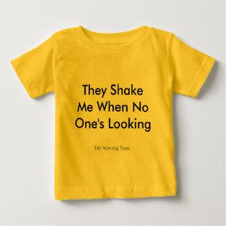 Zij schudden me baby t shirts