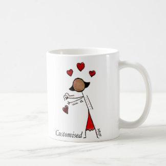 Zij voor Valentijnskaarten Koffiemok