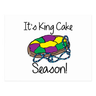 Zijn Cake van de Koning Briefkaart