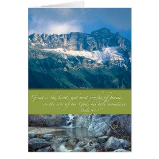 Zijn Heilige Berg Briefkaarten 0